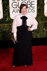 Melissa McCarthy en los Golden Globes de 2015 Foto:AFP
