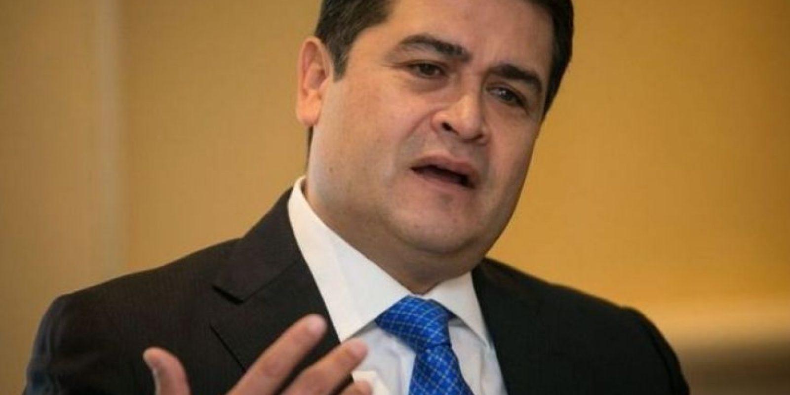 Honduras. Juan Orlando Hernádez también dirá presente en el acto de investidura de Jimmy Morales. Foto:Agencias