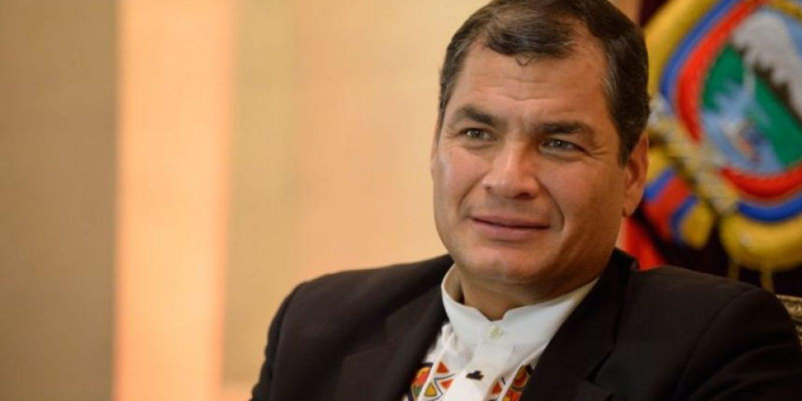 """Ecuador. """"Jueves vamos a Guatemala para cambio de mando"""", indicó Rafael Correa a través de su cuenta en Twitter. Foto:Agencias"""