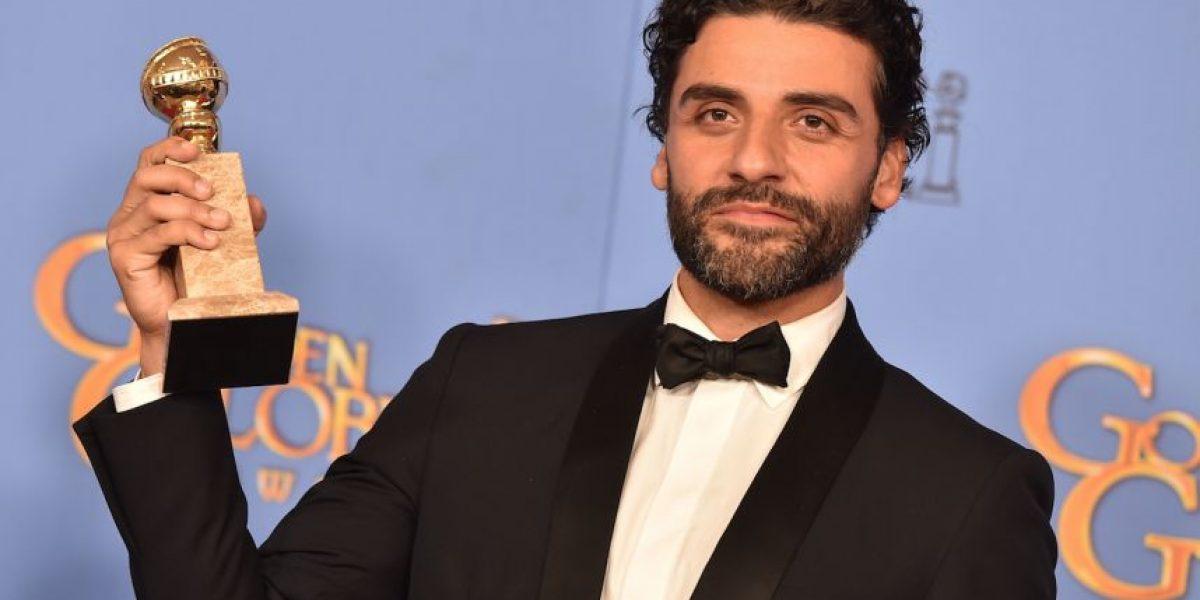 El guatemalteco Óscar Isaac gana su primer Globo de Oro
