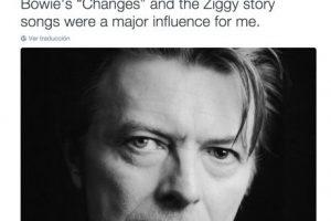 """Gene Simmons: """"David, serás extrañado profundamente. """"Changes y Ziggy fueron las canciones que más me influenciaron"""" Foto:Twitter.com"""