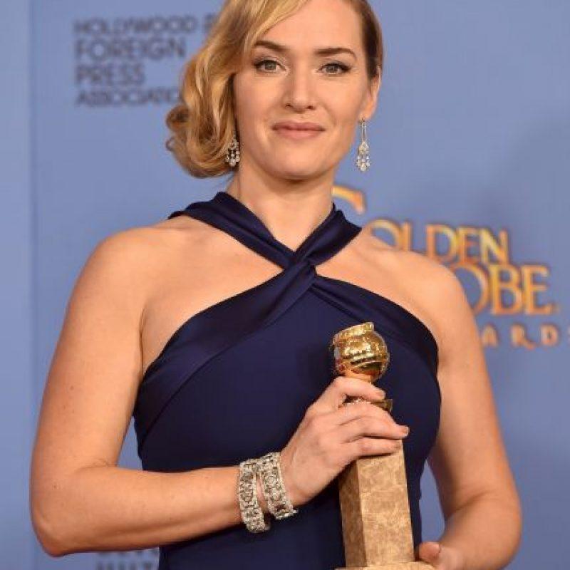 Un grato momento que seguramente quedará en las memorias de ambos actores. Foto:Getty Images