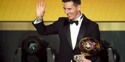 Así fue la premiación de Lionel Messi Foto:Getty Images