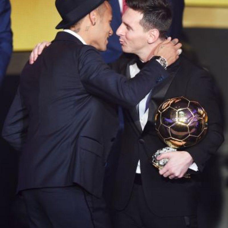 El argentino ganó su quinto Balón de Oro Foto:Getty Images