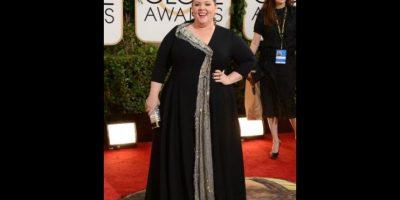 Melissa McCarthy en los Golden Globes de 2014 Foto:AFP