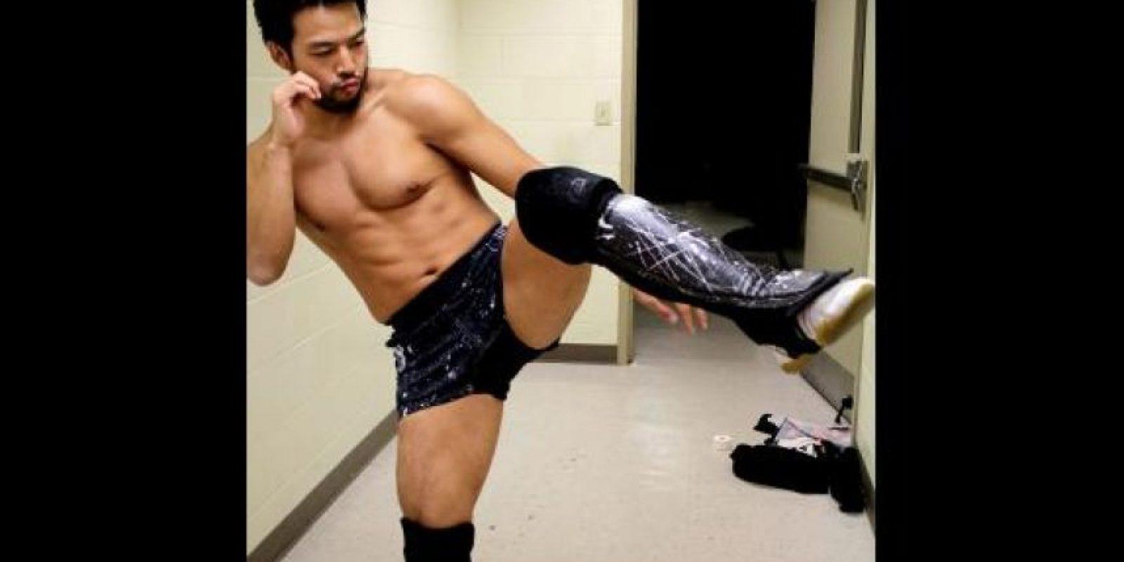 La WWE considera que hizo un negocio muy grande cuando logró firmar a este japonés experto en artes marciales. Es parte de NXT actualmente. Foto:WWE