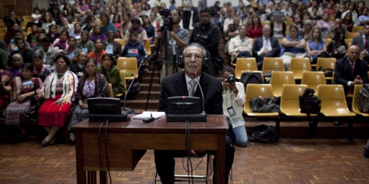 Suspenden inicio del segundo juicio contra Efraín Ríos Montt