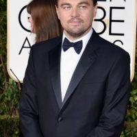 "DiCaprio ganó como ""Mejor Actor de Película Dramática"" por ""The Revenant"". Foto:vía Getty Images"