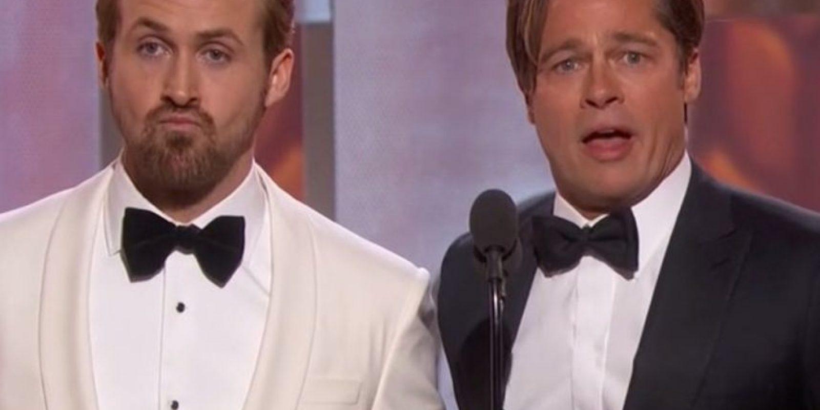 Brad Pitt es Benjamin Button. Foto:vía Getty Images