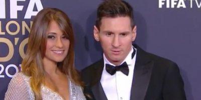 Lionel Messi y Antonella Roccuzzo Foto:Twitter