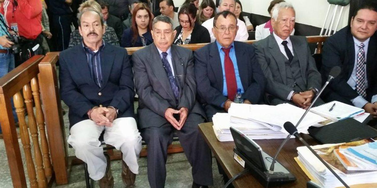 La Fiscalía imputa los hechos a 4 exmilitares por desaparición forzada