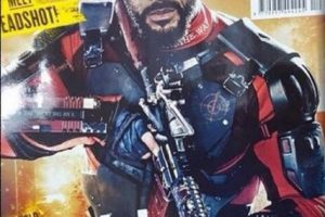 """Deadshot"" es interpretado por Will Smith Foto: ""Empire Magazine"""