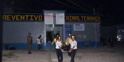 Motín en penal de Chimaltenango deja 5 reos fallecidos y ocho heridos