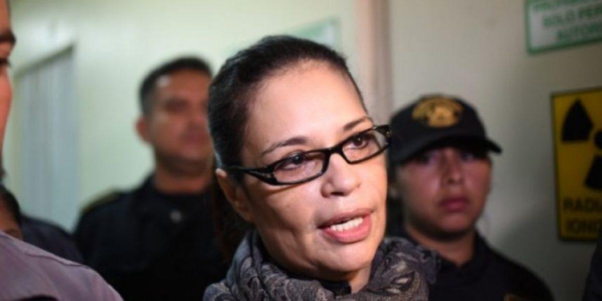 Ex vicepresidenta Roxana Baldetti es llamada para explicar recusación de juzgador