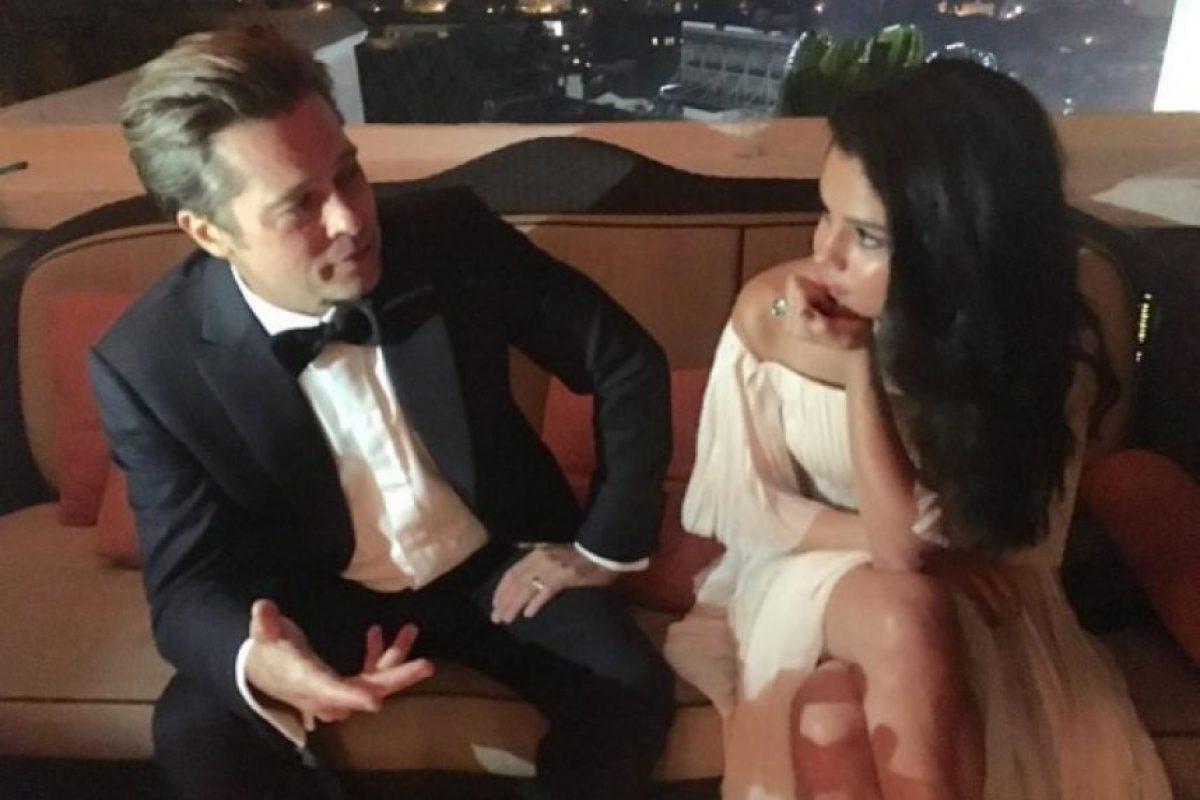 Brad Pitt Foto:Instagram/selenagomez