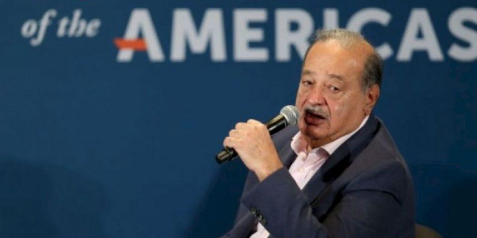 2. Carlos Slim Helú, de 75 años, es un empresario mexicano de telecomunicaciones Foto:Getty Images
