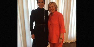 Kris Jenner y Hillary Clinton Foto:Instagram/kimkardashian