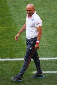 Jorge Sampaoli, entrenador de Chile Foto:Getty Images