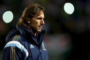 Ricardo Gareca, entrenador de Perú Foto:Getty Images