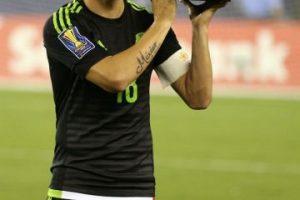 Andrés Guardado, capitán de la Selección de México Foto:Getty Images
