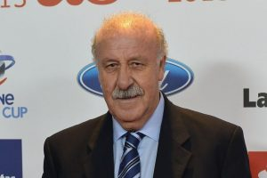 Vicente del Bosque, DT de España Foto: Getty Images