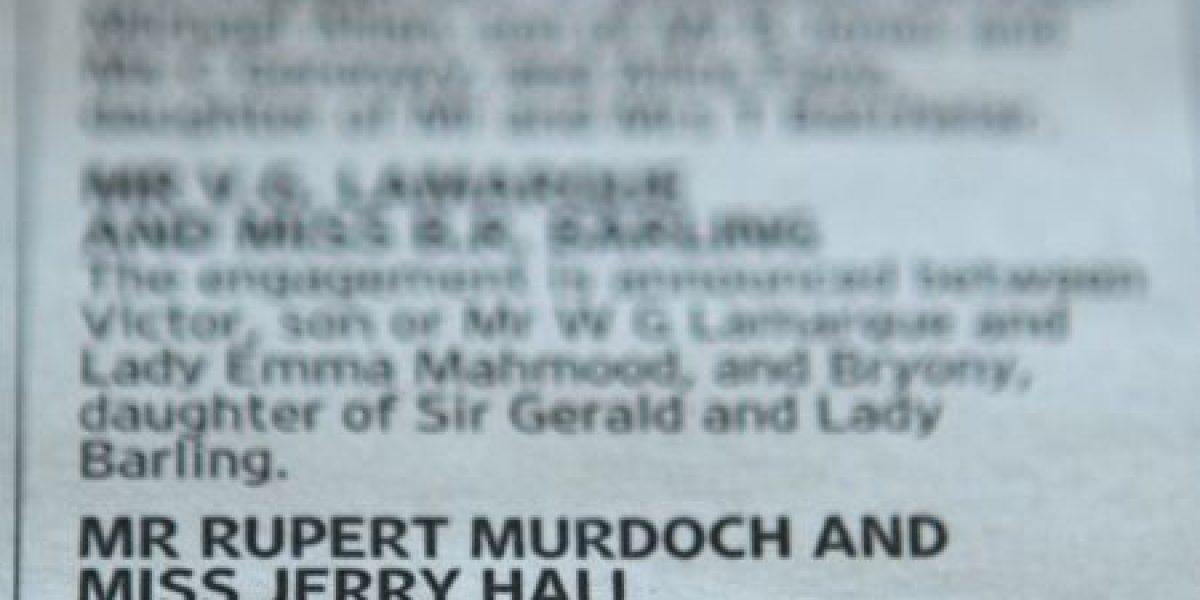 Millonario de 84 años se casará con mujer 25 años más joven... por amor