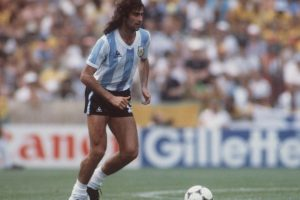 Mario Alberto Kempes Foto: Getty Images