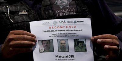 """La captura del Joaquín """"El Chapo"""" Guzmán ocurrió el 8 de enero. Foto:AP"""