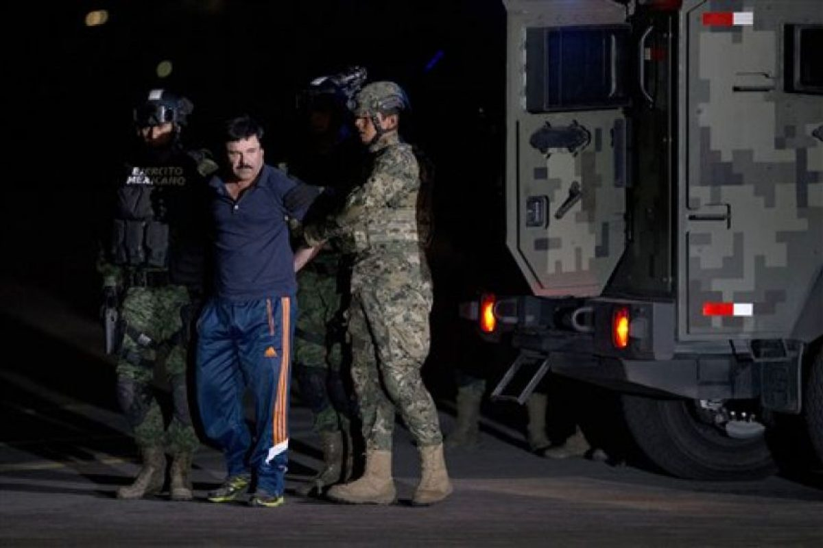 La cual es la tercera dentro de su historial delictivo. Foto:AP