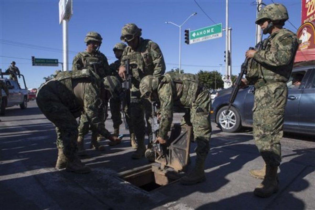 En el estado de Sinaloa, México. Foto:AP