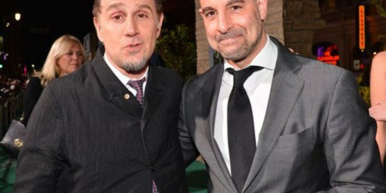 Ha hecho la voz de uno de los Pitufos en su película de 2012. Foto:vía Getty Images
