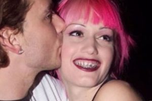 Gwen Stefani hasta tenía brackets. Foto:vía Getty Images