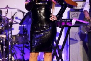 Aquí en la presentación de su show en el evento de UNICEF Foto:Getty Images