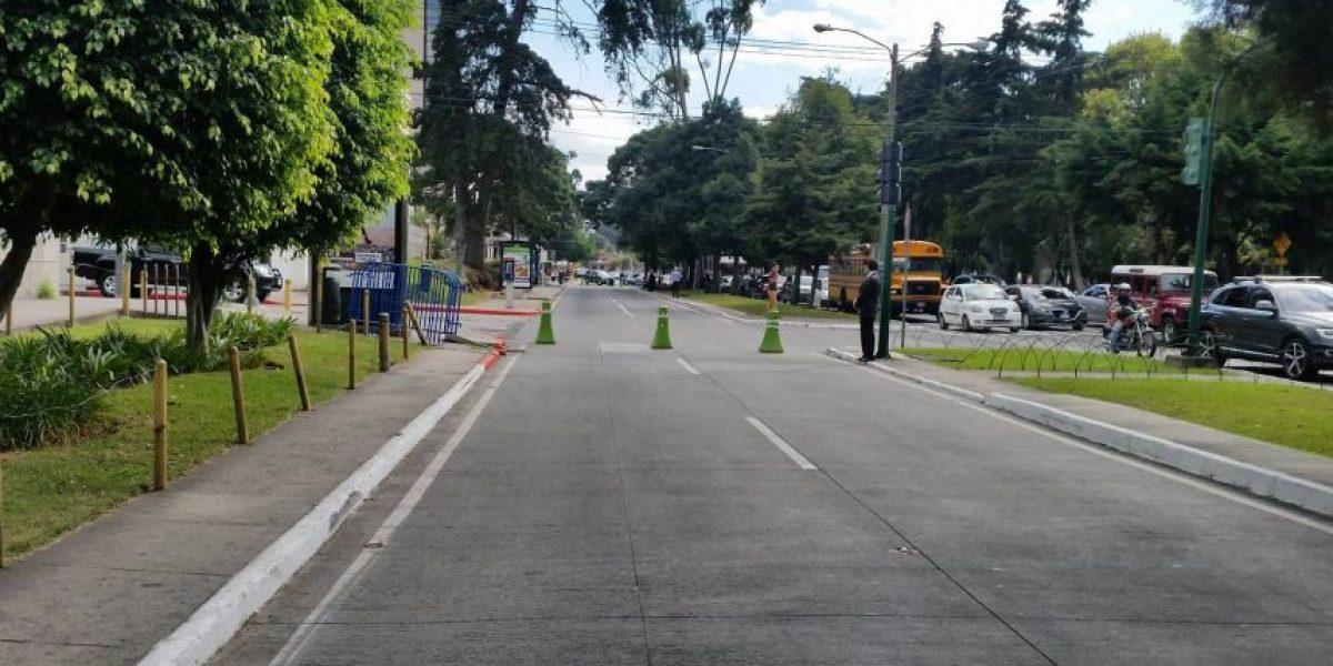 Anuncian cierres vehiculares en varios sectores por toma de posesión