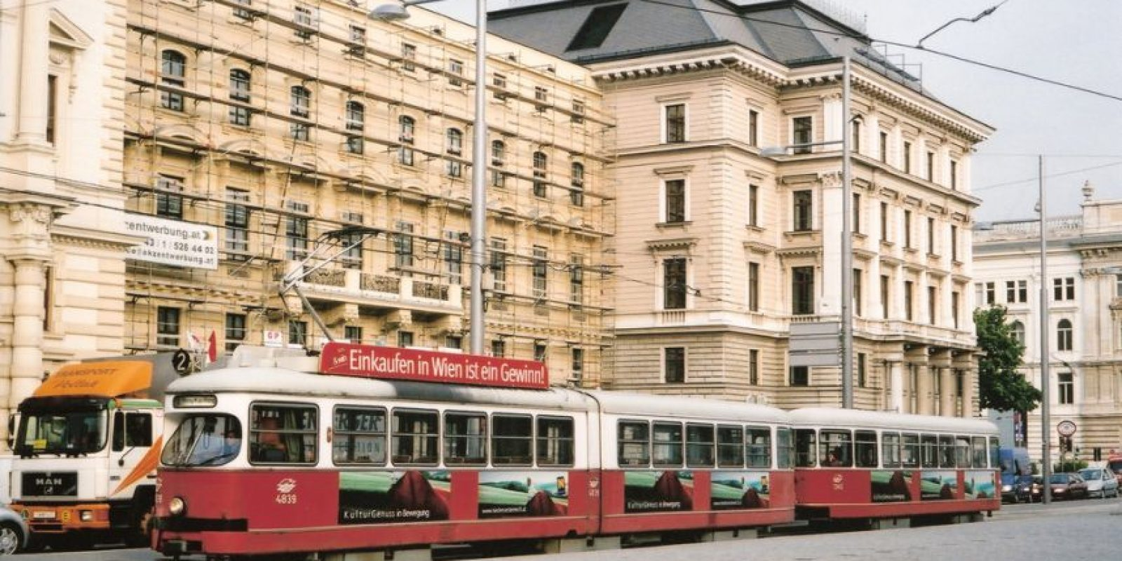 Ringstrasse. Es la avenida más importante de la ciudad. Foto:Vía Flickr