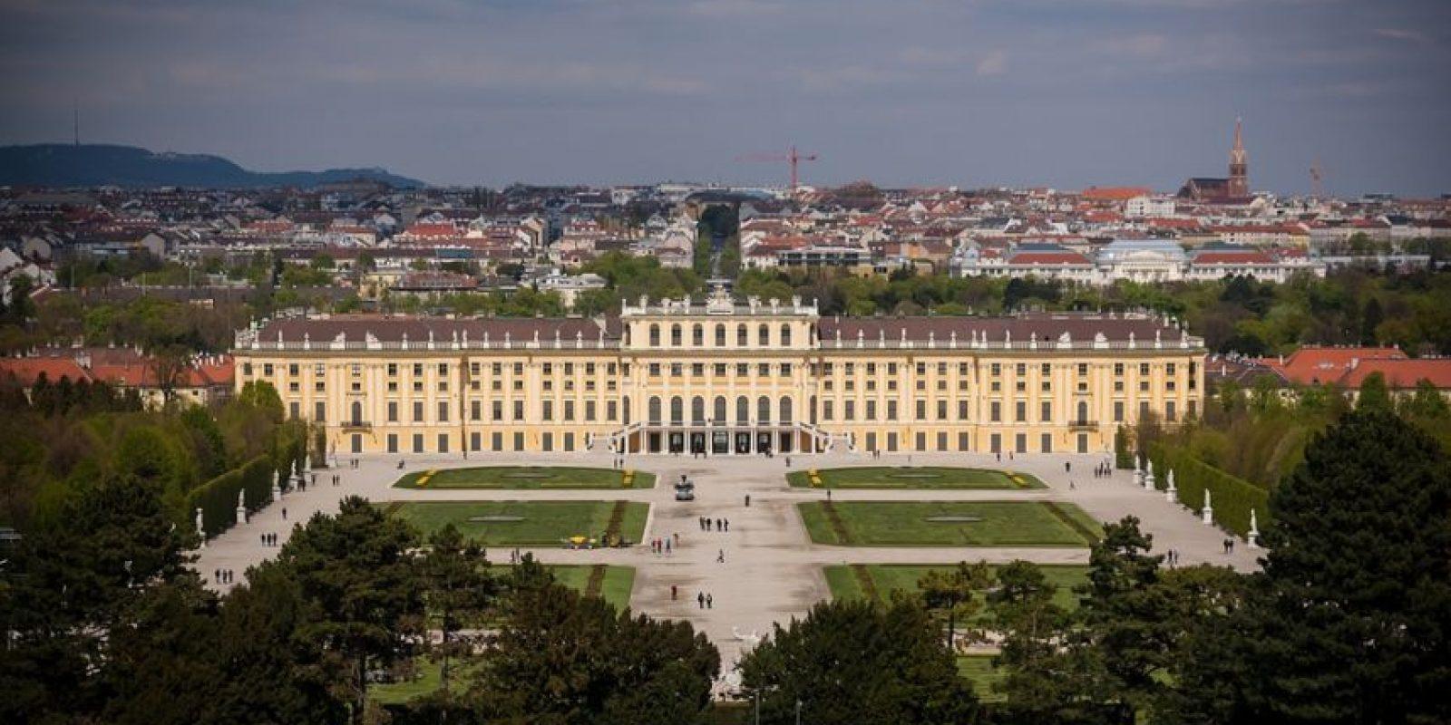 Palacio Schönbrunn. Sirvió durante años como residencia de verano de la familia imperial Foto:Wikipedia.org