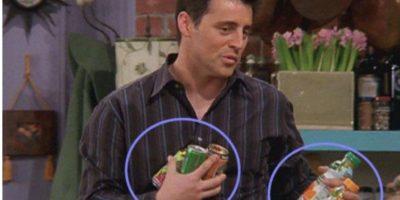 ¿No era una lata y algunas cajas? Foto:Vía YouTube / Warner Bros