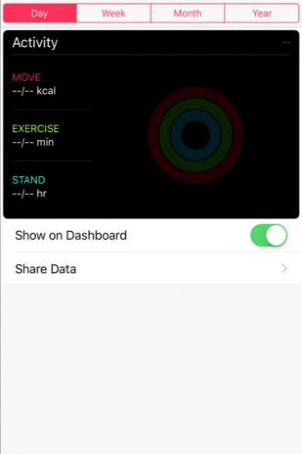 * Datos de entrenamiento en la app Actividad. Foto:vía 9to5Mac.com
