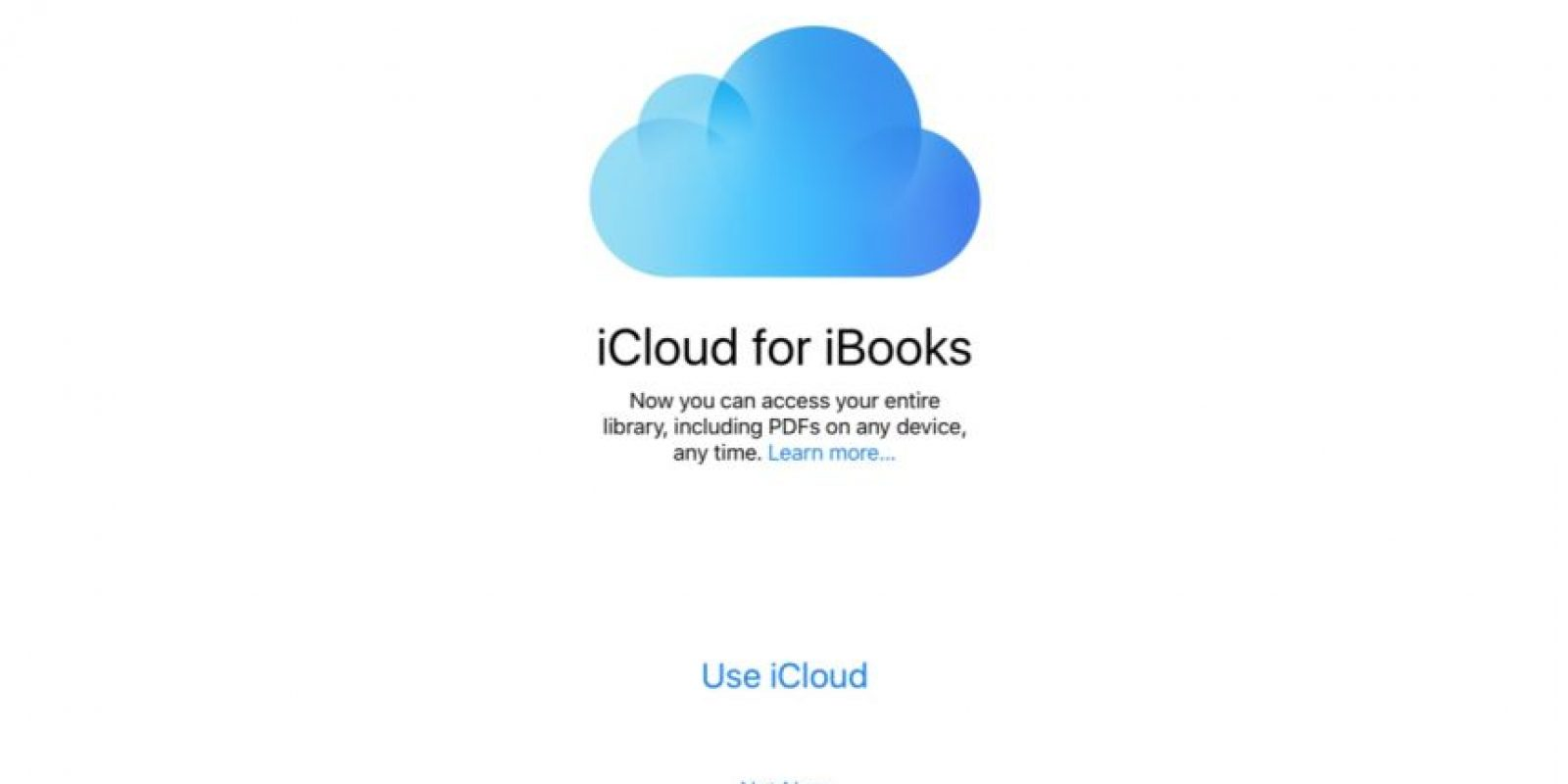 * Compatibilidad de PDF en iCloud for iBooks. Foto: vía 9to5Mac.com