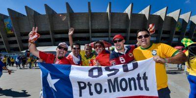 """Pero en los últimos meses ya se escucha en partidos entre selecciones distintas a la """"azteca"""" Foto:Getty Images"""