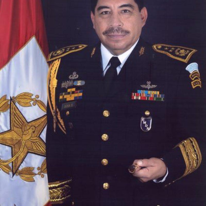 El jefe del Estado Mayor de la Defensa (EMD), Alfredo Sosa Díaz. Foto:Mindef