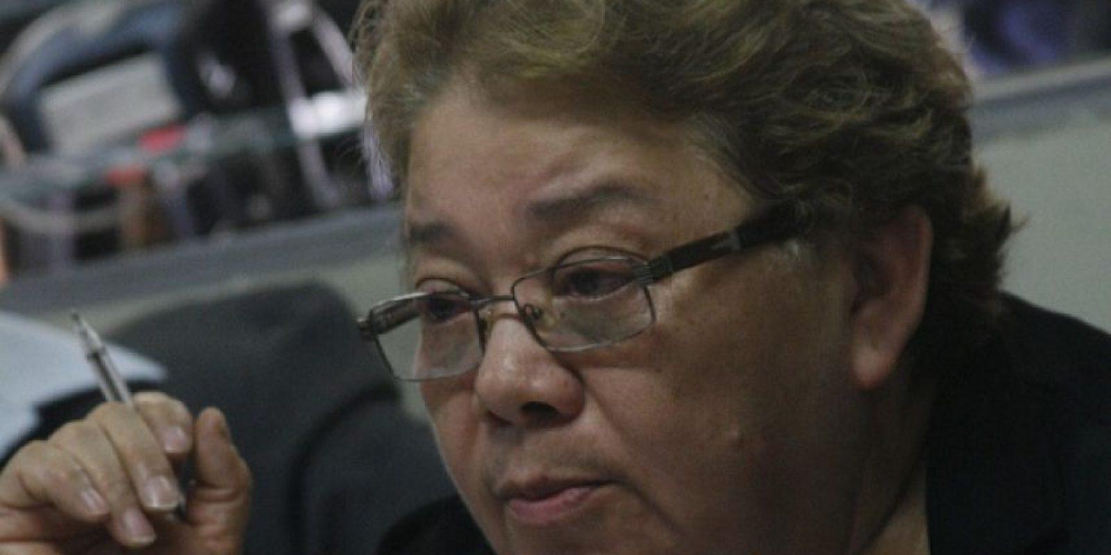 """La exjueza octava Marta Sierra de Stalling, vinculada al """"Bufete de la impunidad"""". Foto:Fernando Ruiz"""