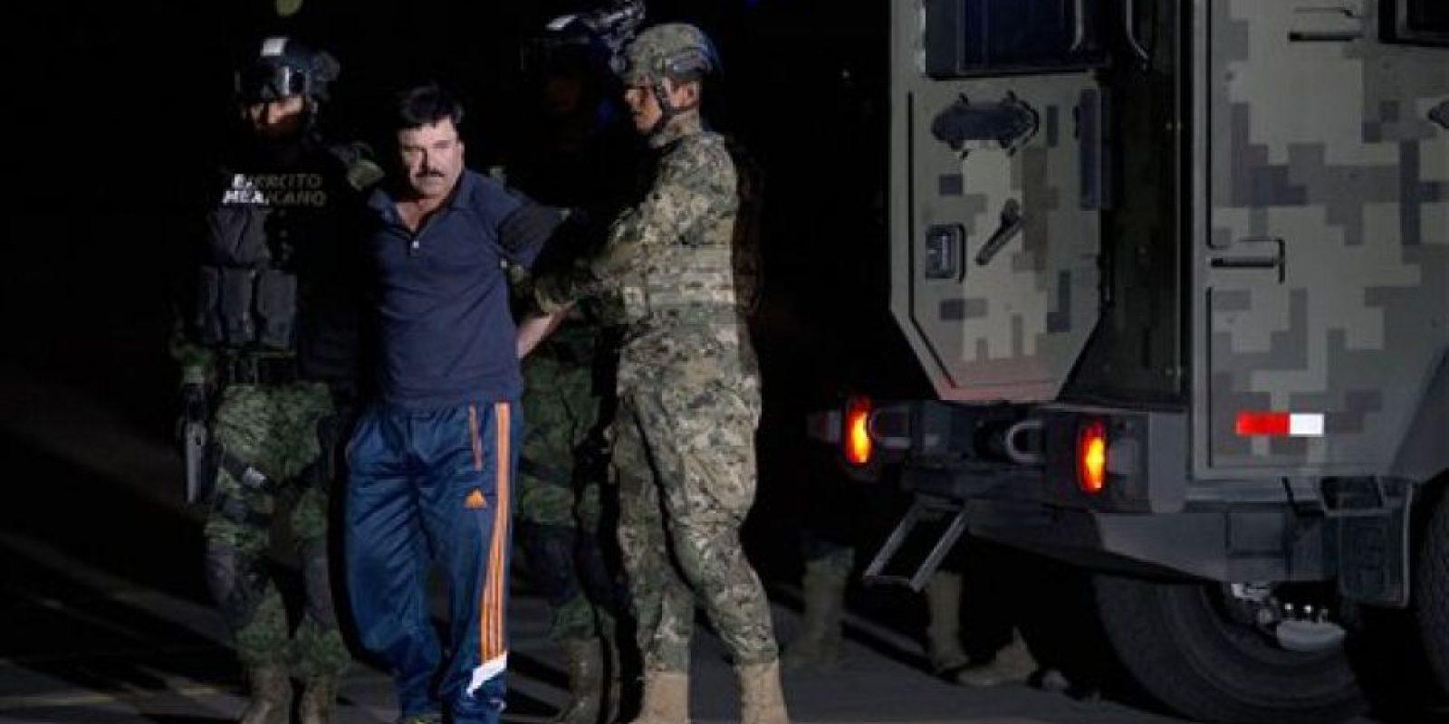 Versiones periódisticas aseguran que los mensajes y el encuentro con la actriz ayudaron a la captura del líder del cartel de Sinaloa Foto:AFP