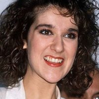 Celine Dion, como ama de casa desaliñada de los 80. Foto:vía Getty Images