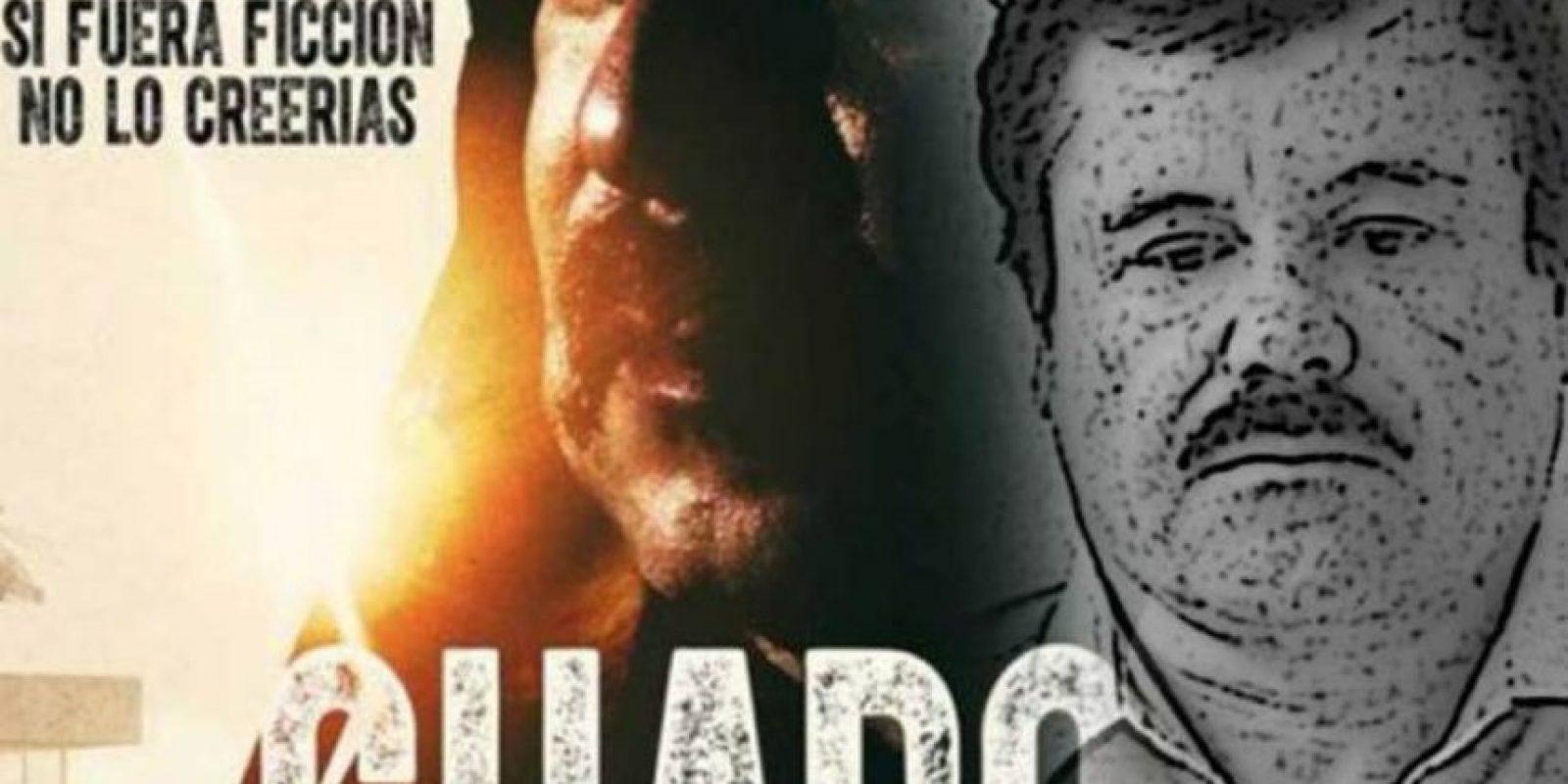 El actor Irineo Álvarez, quien estelariza la cinta aclaró que el film no tiene relación con la biografía que deseaba filmar Joaquín Guzmán, según comunicado de la Procuraduría General de la República. Foto:Vía Twitter
