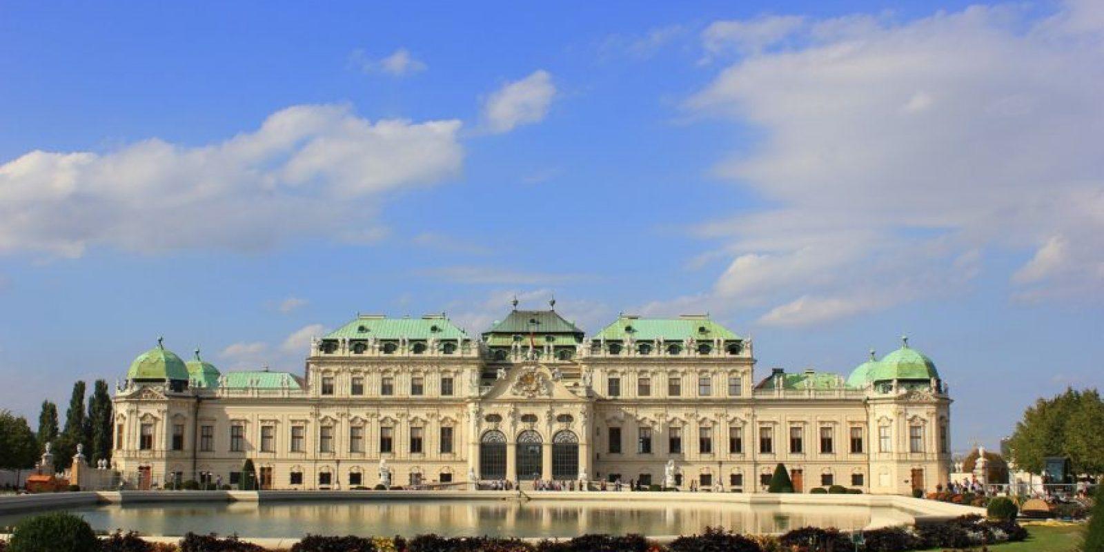 Palacio Belvedere. Hoy en día alberga un museo de arte. Foto:Wikipedia Commons