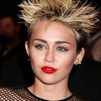 Miley Cyrus como somormujo en la MET Gala del año antepasado. Foto:vía Getty Images