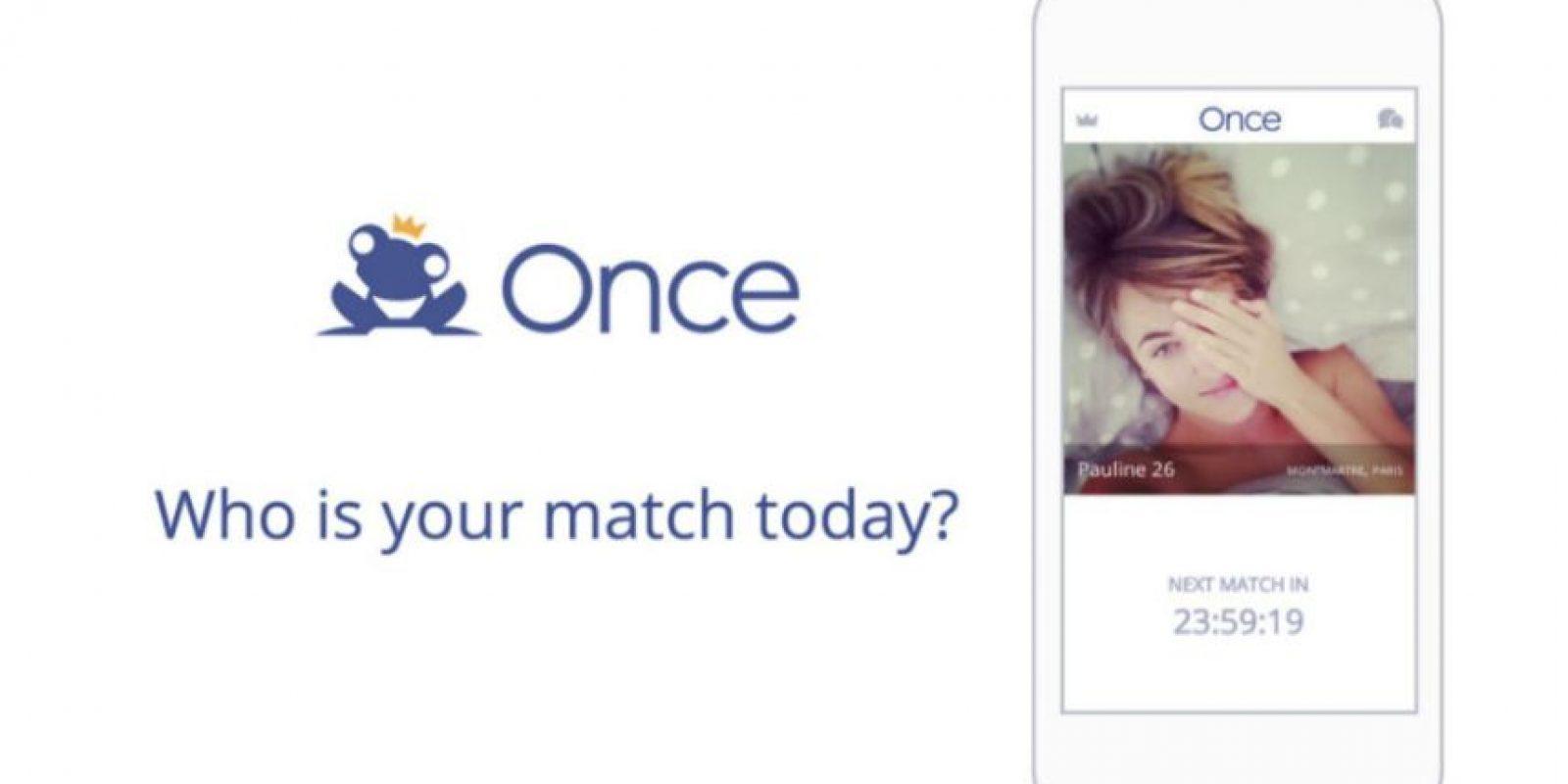 """Once"" les ayudará a encontrar pareja según su ritmo cardiaco. Foto:Once Dating AG"