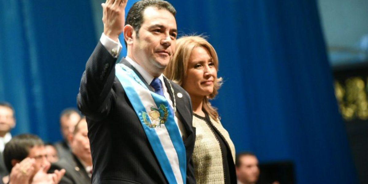 Jimmy Morales, el nuevo presidente de Guatemala