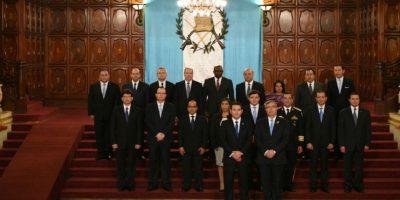 El Gabinete del presidente de Guatemala, Jimmy Morales